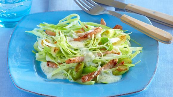 Spitzkohl-Kasseler-Salat
