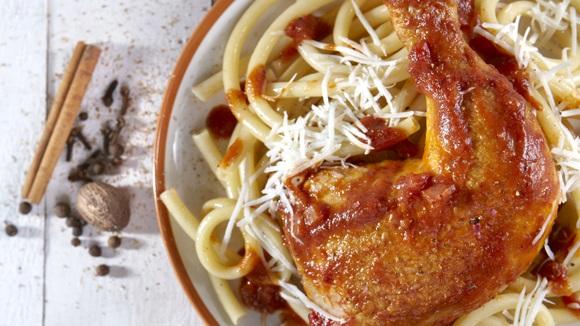 Κερκυραϊκή παστιτσάδα με κοτόπουλο