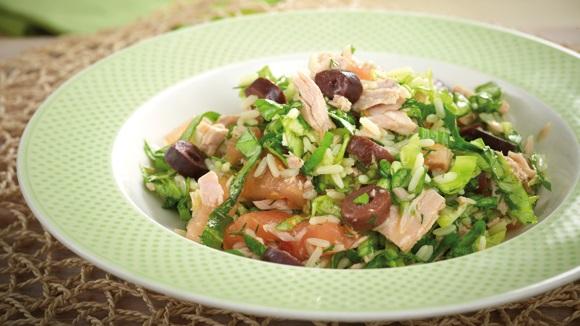 Ρύζι σαλάτα