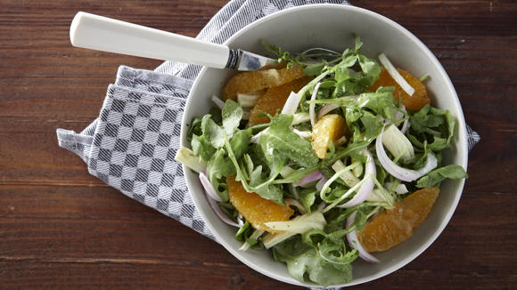 Σαλάτα με ρόκα και φινόκιο