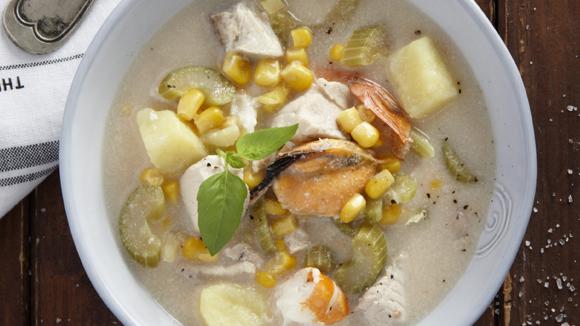 Σούπα θαλασσινών