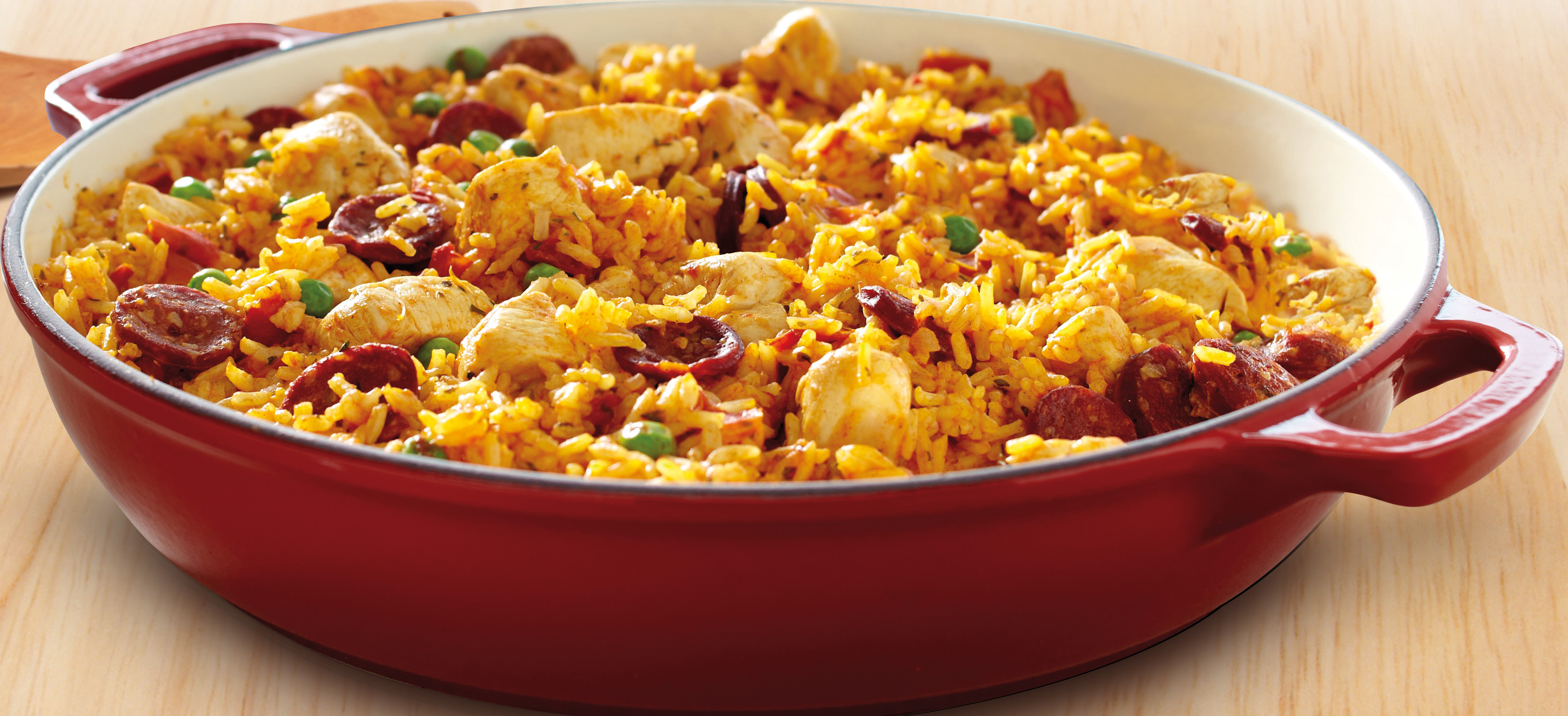 Spanish Chicken & Chorizo Paella Recipe. Continental Recipes.