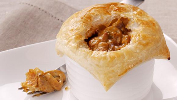 Home Recipes Chicken, Mushroom & Bacon Pie
