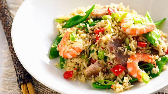 Pork & Prawn Fried Rice