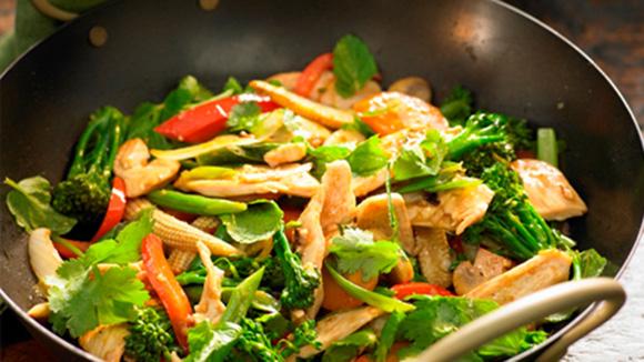 Fragrant Thai Chicken Stir-Fry
