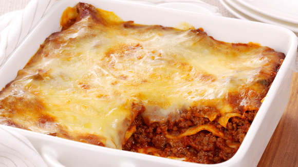 Beef Lasagne Recipe. Traditional recipes from Continental®