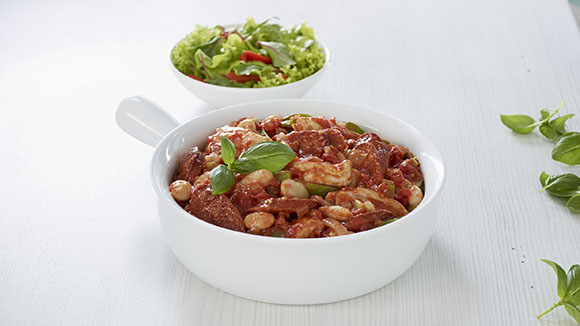 Chicken & Chorizo Casserole
