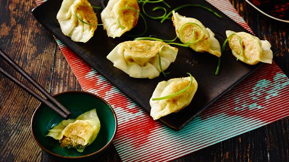 Sesame Pork Fried Dumplings