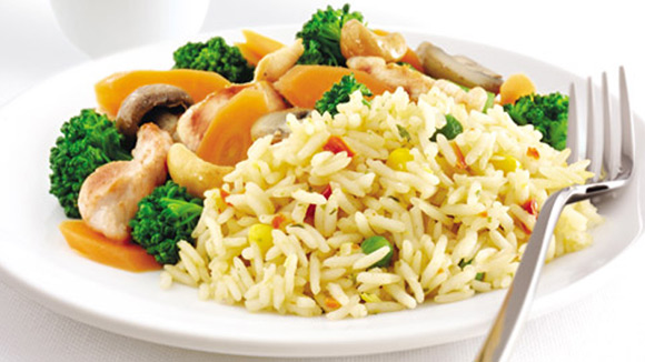 Chicken Oriental Fried Rice
