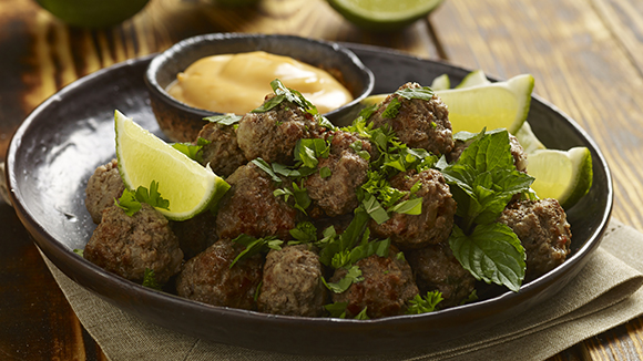 Brazilian Meatballs (Kibes)