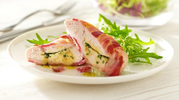 Stuffed Chicken Breast with Parma Ham