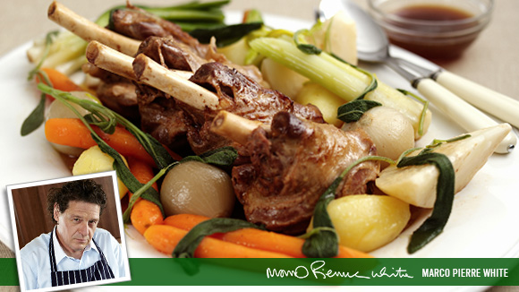 Lamb Shanks Stockpot