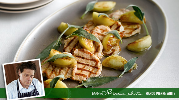 Pork Medallions with Caramelised Apple