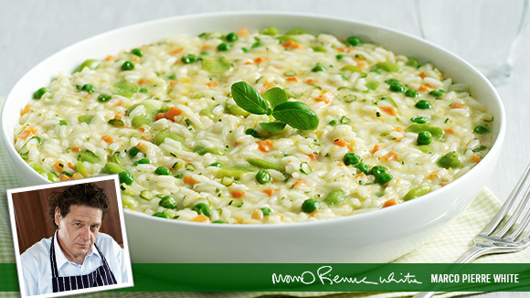 ... spring vegetable toss spring vegetable risotto marco pierre white s