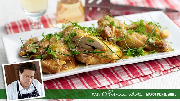 Warm Chicken a la Vinaigrette