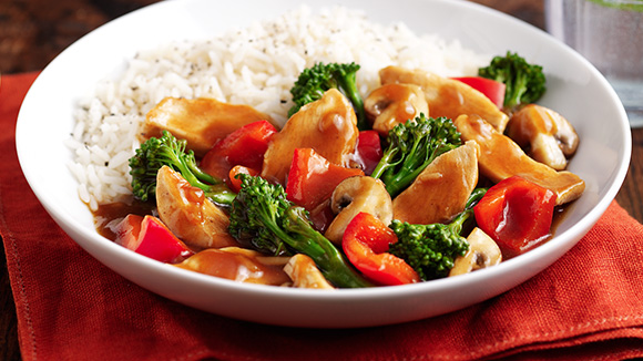 Oriental Stir-fry Chicken