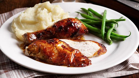 Home Recipes Spiced Roast Chicken