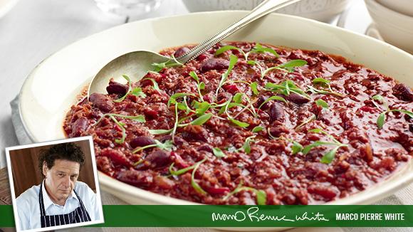 Chilli con carne for Adding chocolate to chilli con carne