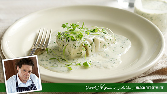 Cod in Parsley Sauce