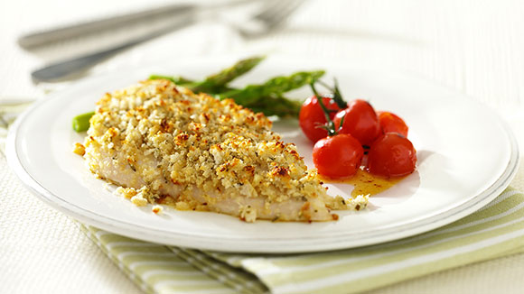 Herby Crusted Chicken