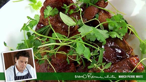 Olive and Rosemary Lamb Chops