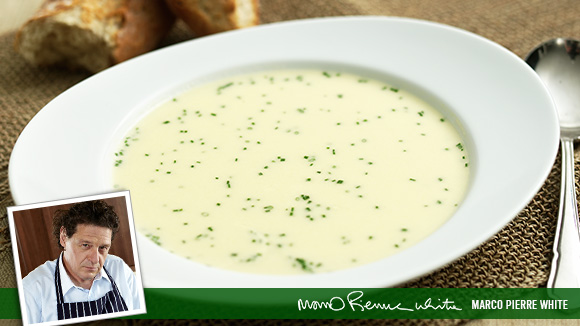 leek and potato soup see this recipe leek soup with