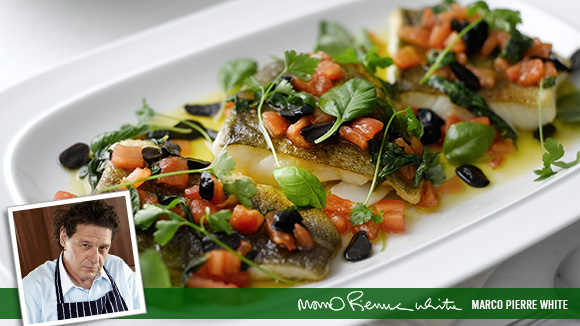 Cod Fillet with Sauce Vierge
