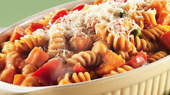 Seasonal Vegetable Pasta