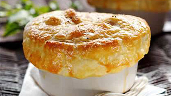 Home Recipes Chicken and Mushroom Pie