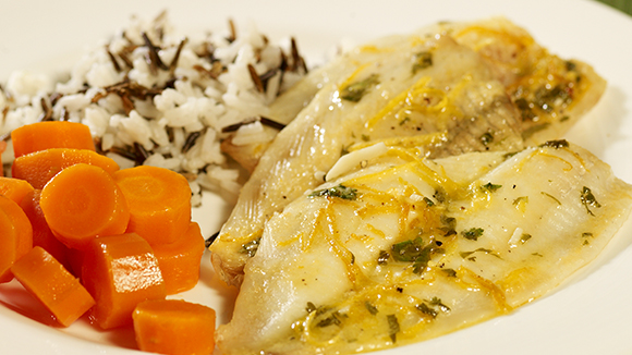 Fish with Lemon Butter