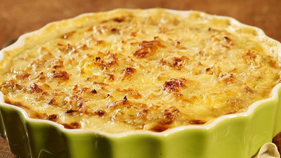 Home Recipes Potato and Onion Gratin