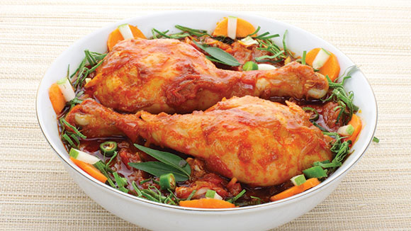 Garlic Tomato Chicken RECIPE