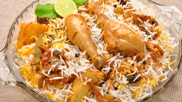 Hyderabadi chicken biryani recipe indian chicken biryani for Chicken biryani at home