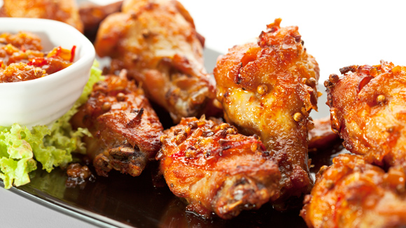 SWEET AND SPICY CHINESE WINGS RECIPE
