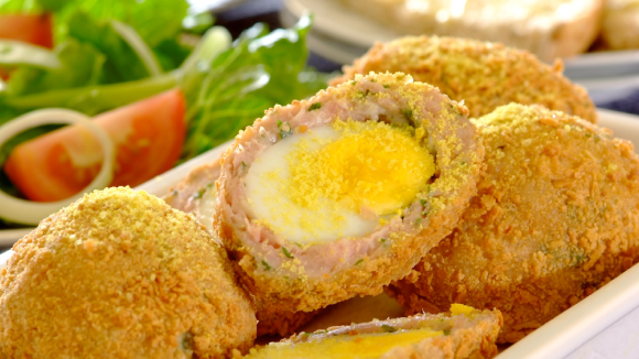 Delicious Crispy Scotch Eggs