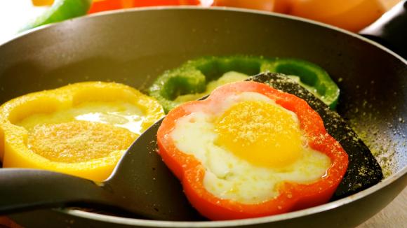 Fun Pepper Eggs