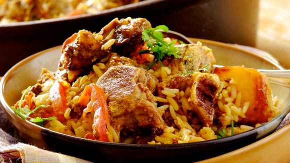 Spicy Mutton Biryani
