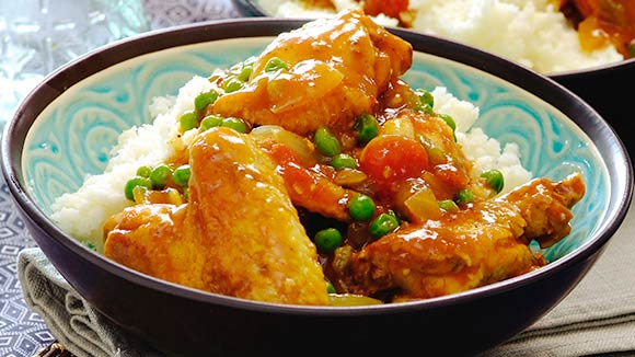 Sweet And Spicy Chicken Curry