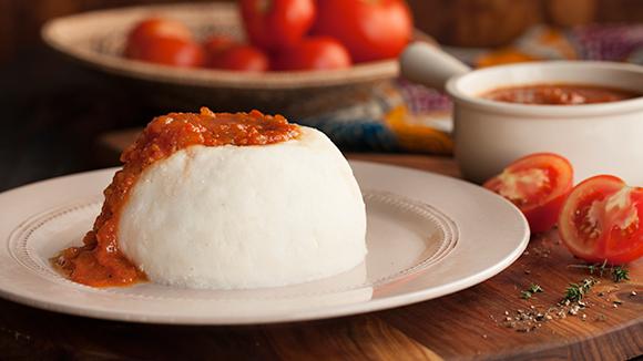 Royco Tomato Sauce Served with Ugali