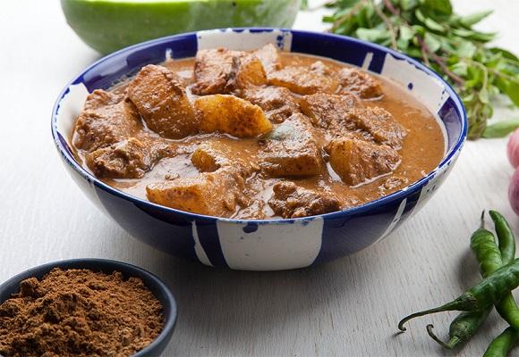 Ash Gourd (Puhul) Kalu Pol Curry