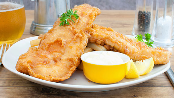 Batter Fried Fish