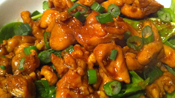 Cinnamon Orange Chicken