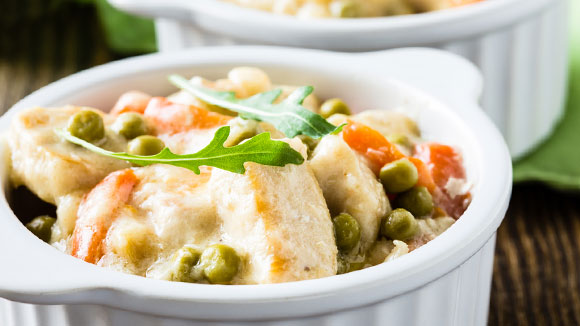 Creamy White Chicken and Vegetable Stew