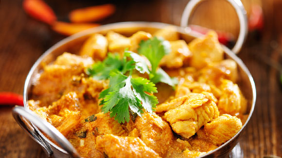 Curried Chicken in Coconut Gravy