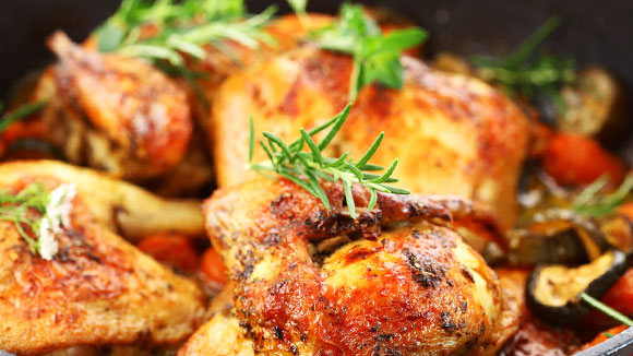 Extra Spicy Pot-roasted Soy Chicken