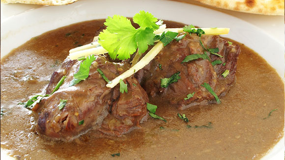 Mutton with Spicy Pumpkin Sauce