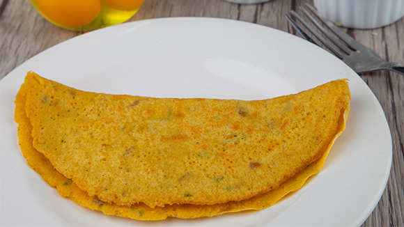 Dhal Omelet