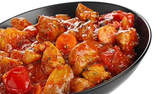 Orange Hinted Honey Glazed Pork