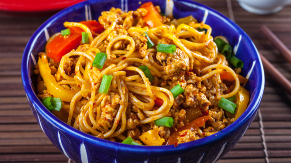 Extra Hot Chili Chicken Noodles