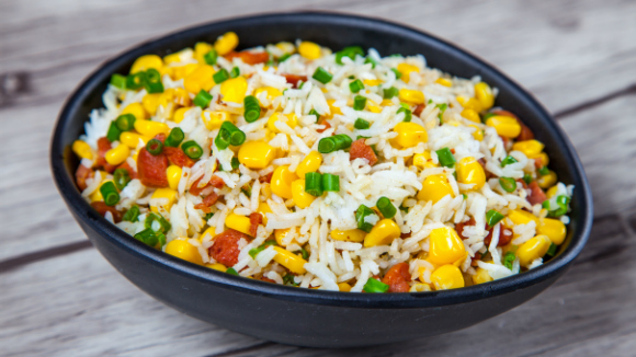 Corn and sausage Rice